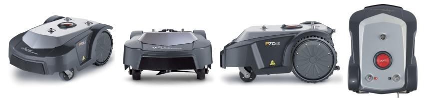 P70S vejos robotas