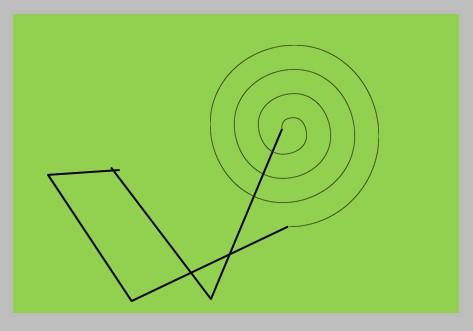 pjovimo spirale režimas