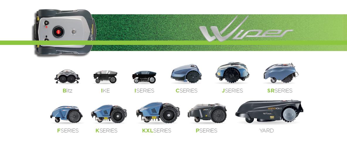Wiper robotų gama